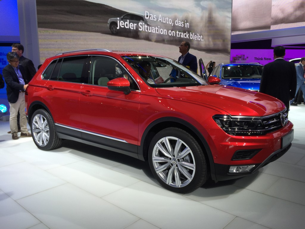 image 2017 volkswagen tiguan 2015 frankfurt auto show size 1024 x 768 type gif posted on. Black Bedroom Furniture Sets. Home Design Ideas