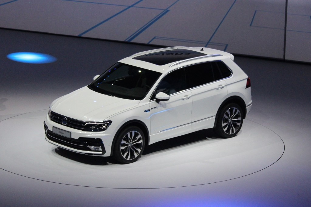 image new volkswagen tiguan european spec 2015 frankfurt auto show size 1024 x 682 type. Black Bedroom Furniture Sets. Home Design Ideas