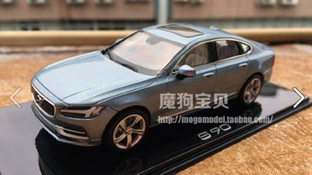Perfect 2017 Volvo S90 Revealed In Scale Model Form