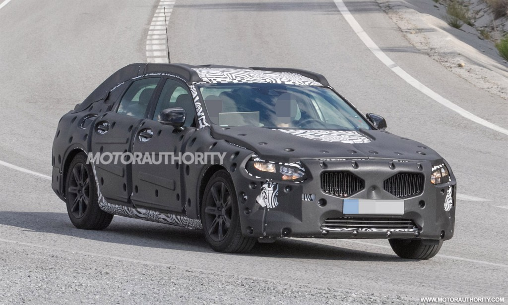 Simple 2017 Volvo S90 Revealed In Scale Model FormPhoto Update