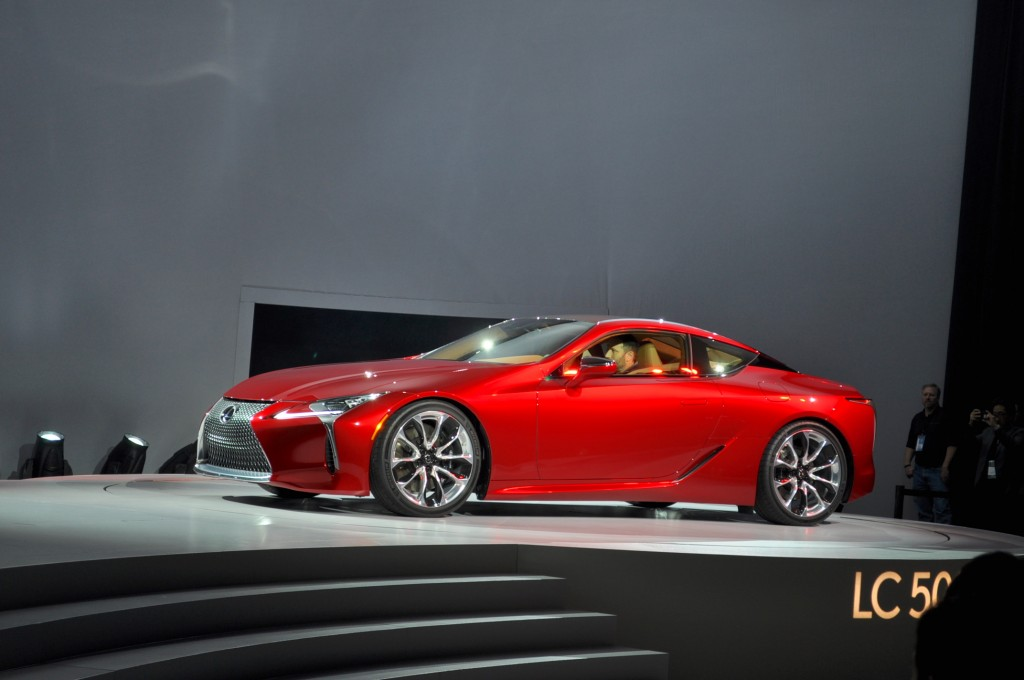 image 2018 lexus lc 500 2016 detroit auto show size. Black Bedroom Furniture Sets. Home Design Ideas