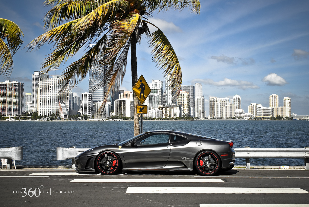 Costly Car Tune Up >> Ferrari F430 carbon wheel package by Miami's 360 Forged