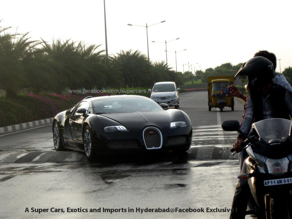 When Bugatti Veyron Meets Speed Bump Updated With Video