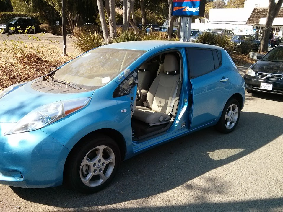Solved Electric Car Mystery Doorless Abandoned Nissan