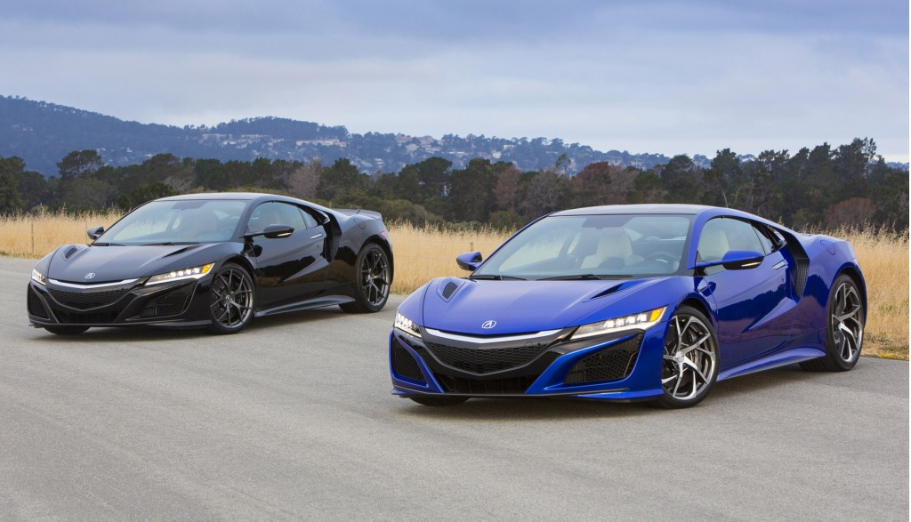acura nsx starting production next spring arriving as. Black Bedroom Furniture Sets. Home Design Ideas