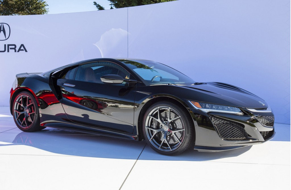 acura nsx starting production next spring arriving as 2017 model. Black Bedroom Furniture Sets. Home Design Ideas