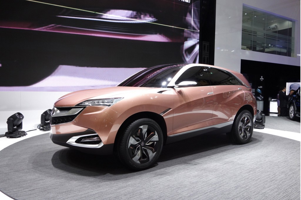New Acura Concept SUVX will Lead to a ChinaMade Production Model