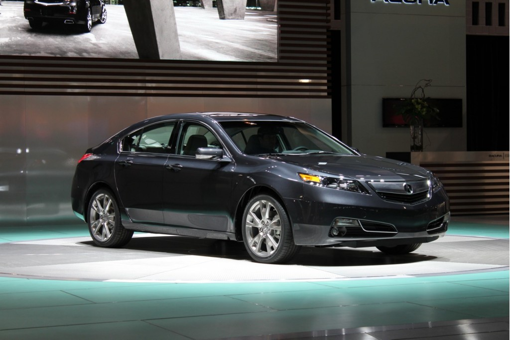2012 acura tl 2011 chicago auto show. Black Bedroom Furniture Sets. Home Design Ideas