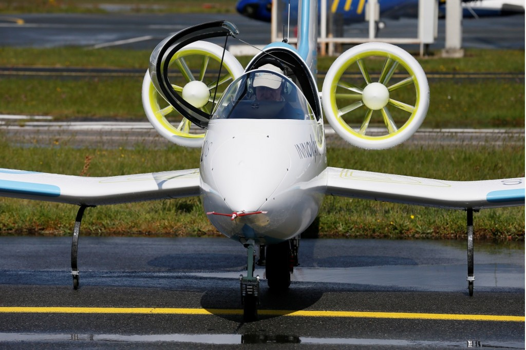 Airbus E Fan Electric Aircraft