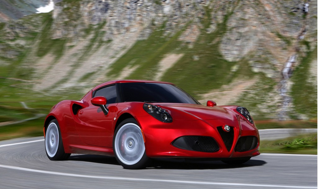 2015 alfa romeo 4c how much it costs where to buy it. Black Bedroom Furniture Sets. Home Design Ideas
