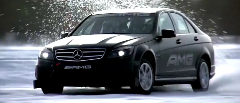 Amg winter driving academy sweden season highlights video for Mercedes benz driving school los angeles