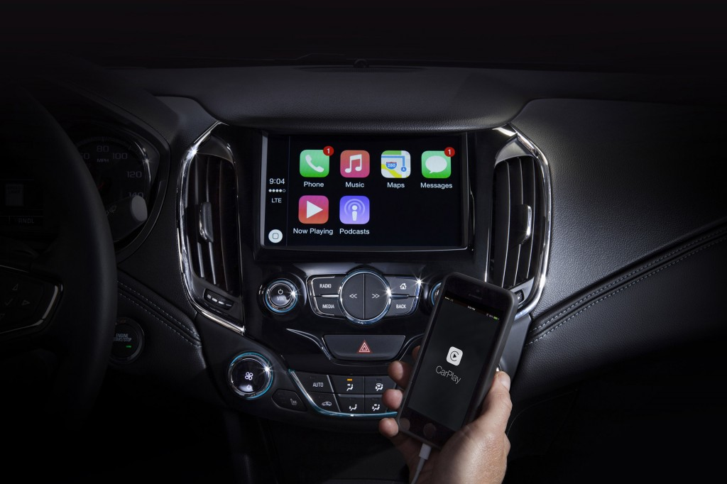 2016 chevy cruze to debut june 24 be compatible with android auto and apple carplay. Black Bedroom Furniture Sets. Home Design Ideas