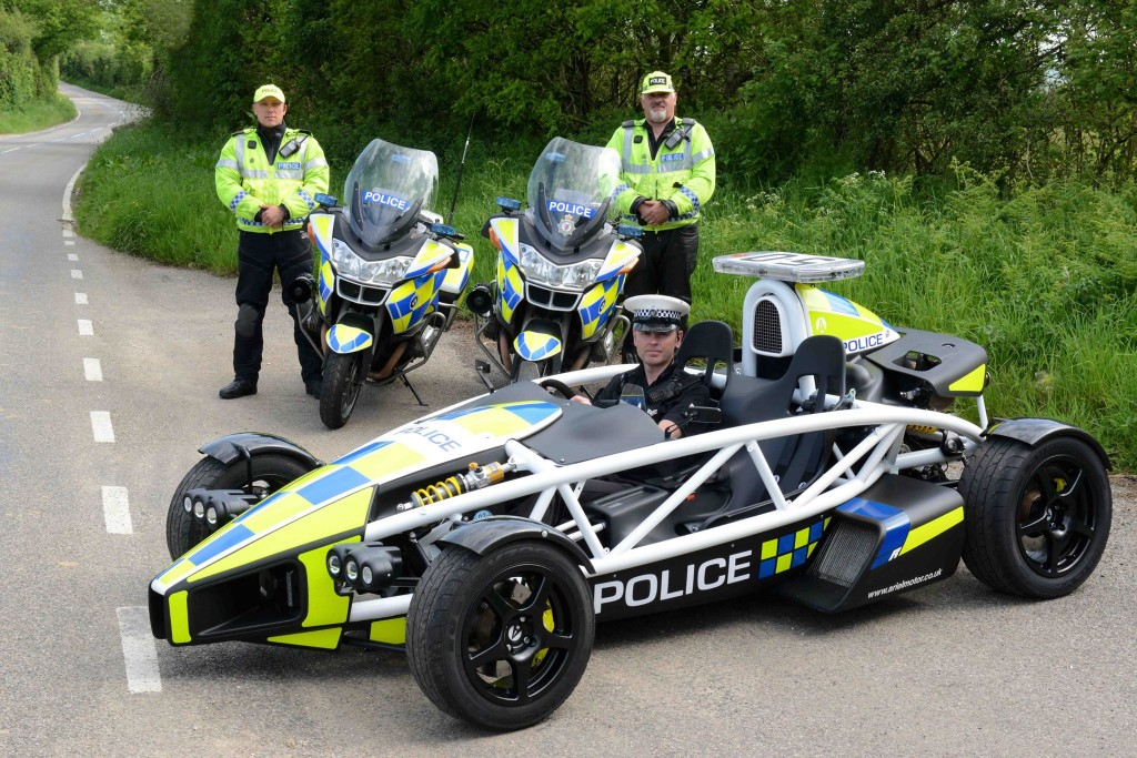 Don T Try And Outrun This Ariel Atom Police Car