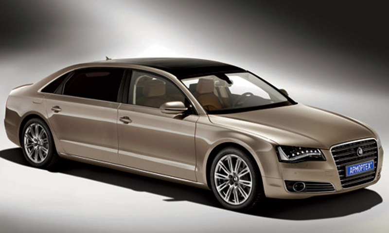Stretched Audi A8 L By Russia S Armortech