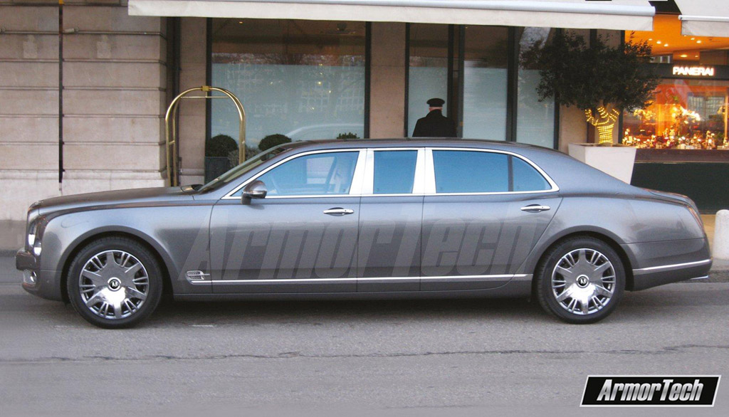 stretched bentley mulsanne built by russia s armortech. Cars Review. Best American Auto & Cars Review