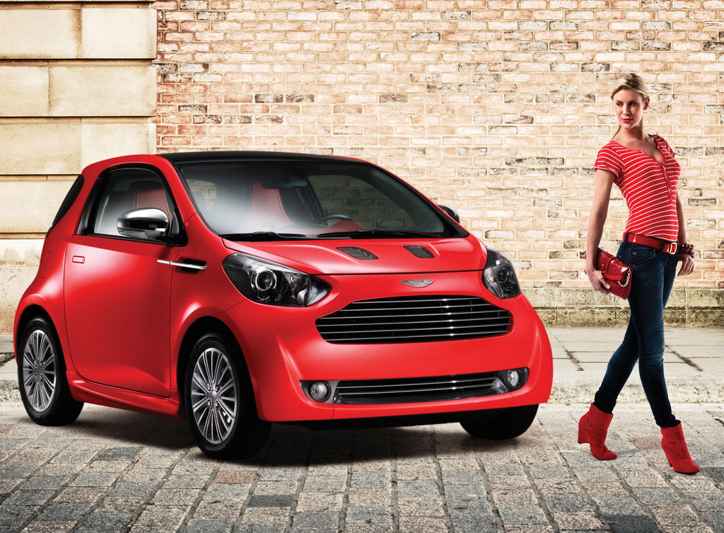 aston martin cygnet minicar coming to u s by 2012. Black Bedroom Furniture Sets. Home Design Ideas