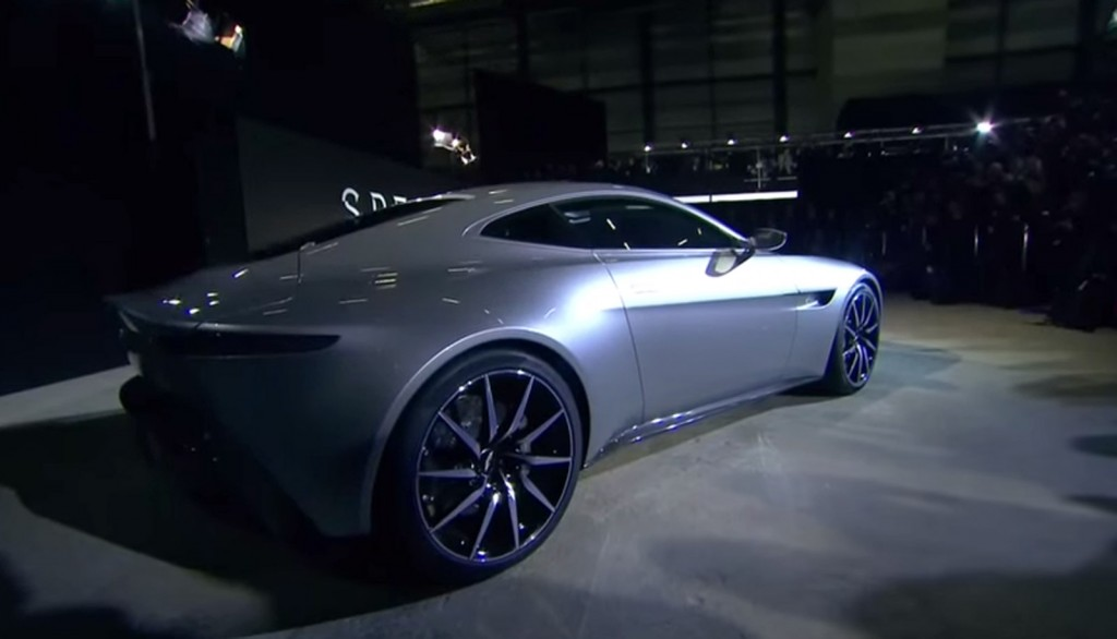 New Aston Martin DB10 From New James Bond Movie Spectre
