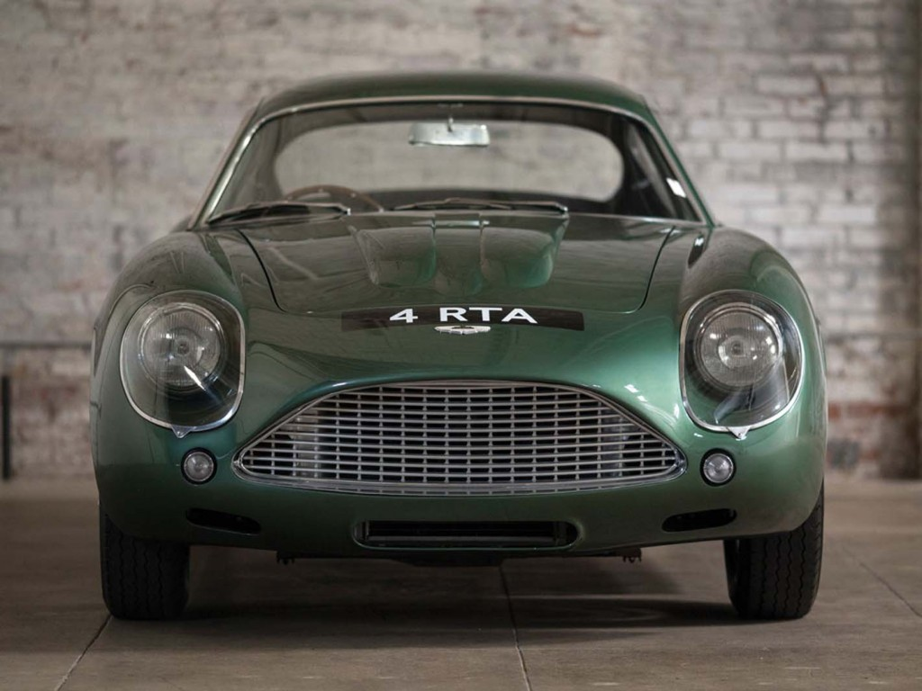 original aston martin db4 zagato headed to auction video. Black Bedroom Furniture Sets. Home Design Ideas
