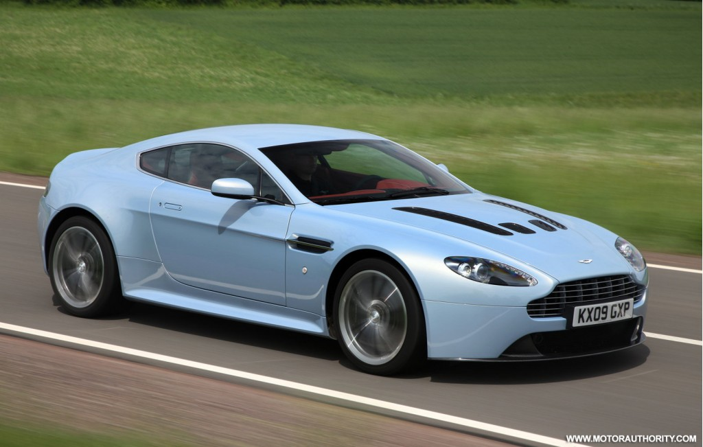 aston martin price list