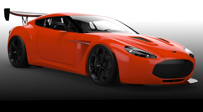 Race Spec Aston Martin V12 Zagato Previewed