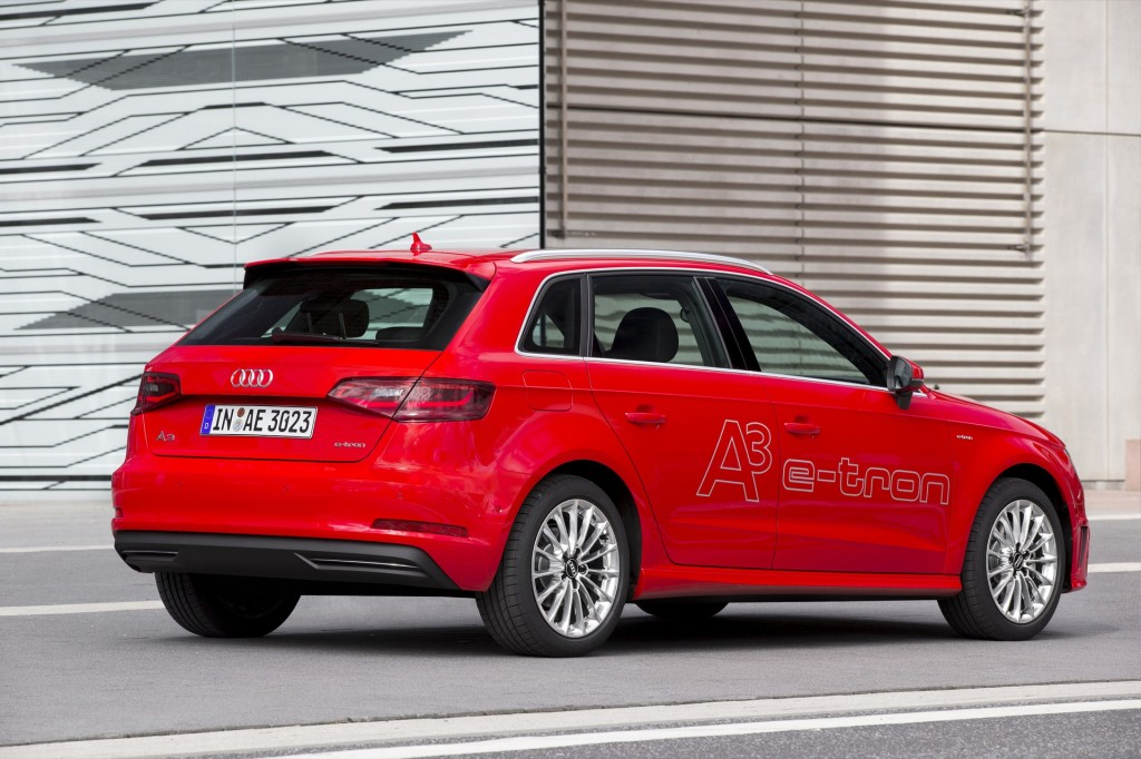 audi a3 e tron plug in hybrid not a compliance car exec says. Black Bedroom Furniture Sets. Home Design Ideas