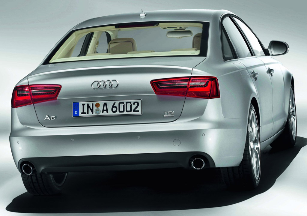 2012 audi a6 awarded iihs top safety pick. Black Bedroom Furniture Sets. Home Design Ideas