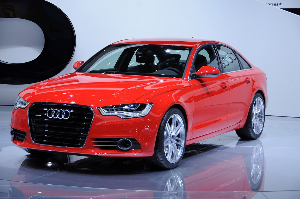 2012 audi a6 wins eyeson design award at detroit auto show. Black Bedroom Furniture Sets. Home Design Ideas