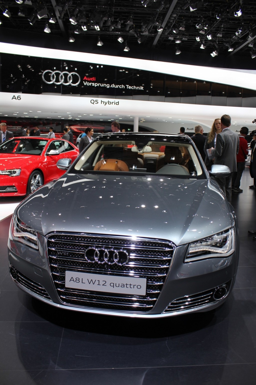 audi a8 l w12 exclusive concept 2011 frankfurt auto show. Black Bedroom Furniture Sets. Home Design Ideas