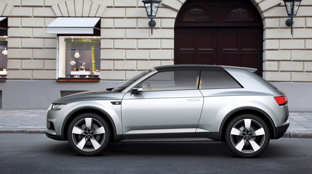 audi crosslane coupe concept heralds new q2 crossover. Black Bedroom Furniture Sets. Home Design Ideas