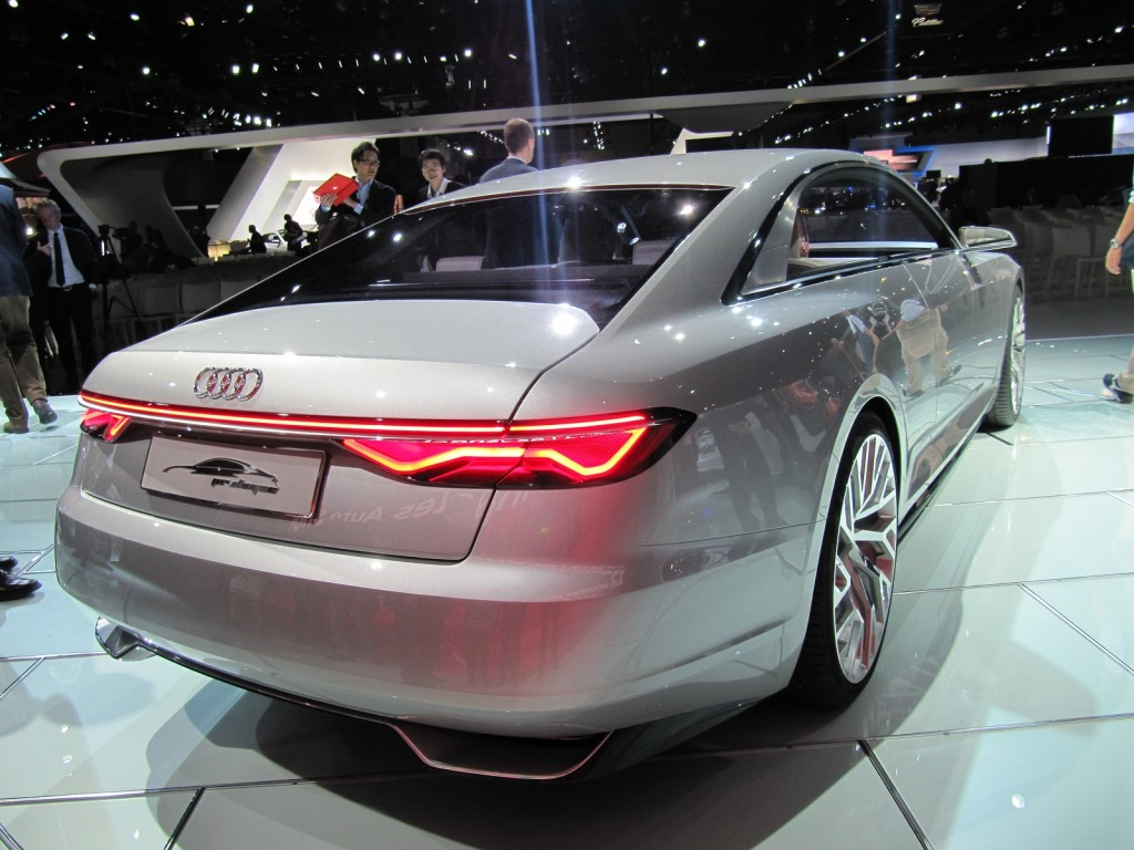 Audi Prologue Concept Revealed Presages New Look For Brand