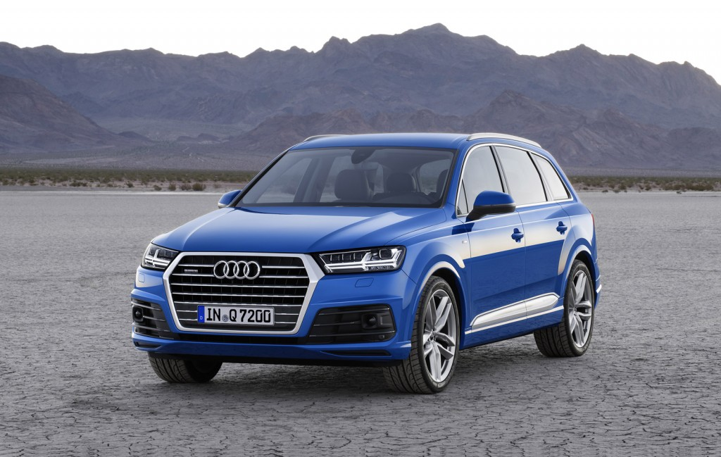 2016 audi q7 to offer e tron quattro diesel plug in hybrid. Black Bedroom Furniture Sets. Home Design Ideas