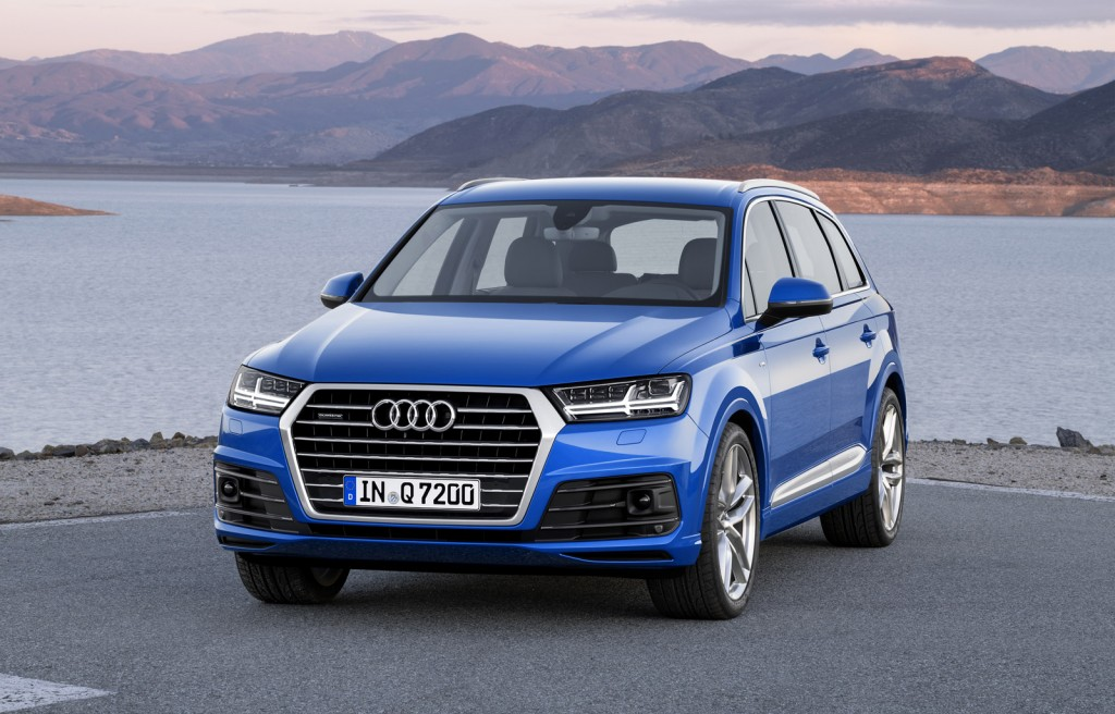 2016 Audi Q7: First Look