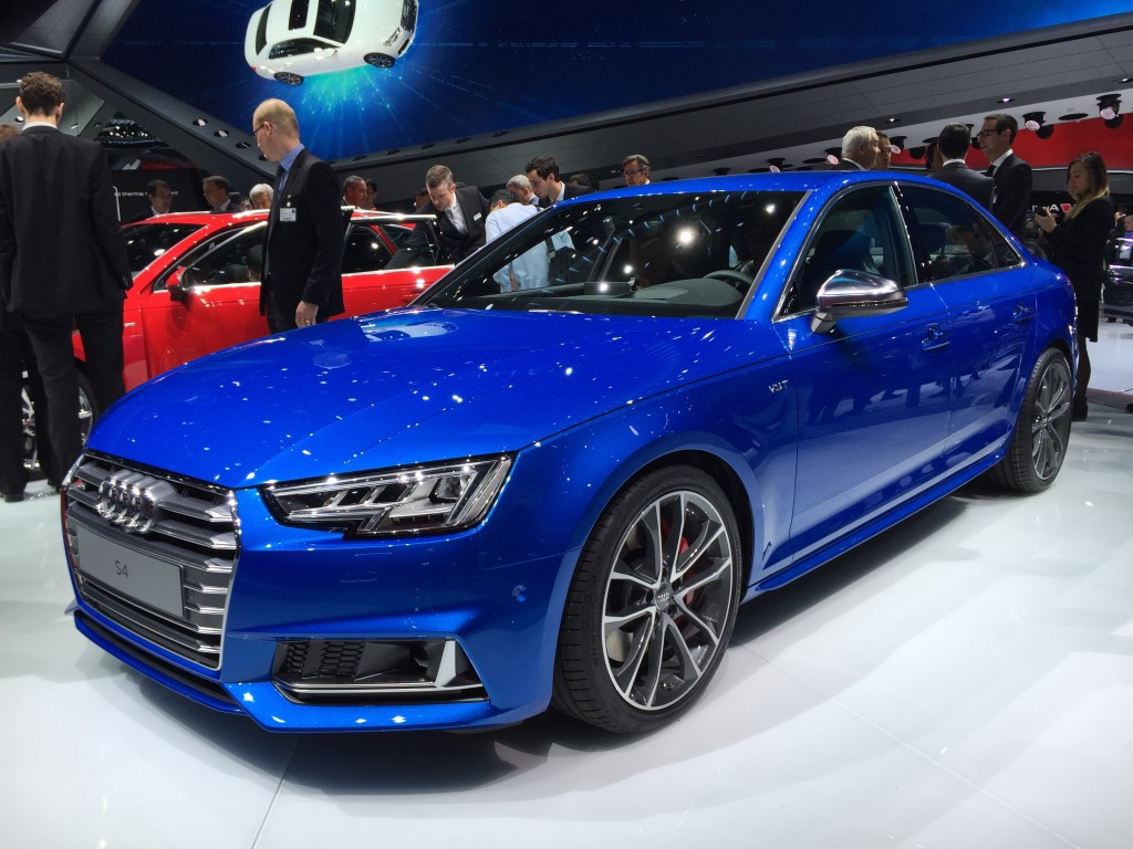 2017 audi s4 2015 frankfurt auto show live photos video. Black Bedroom Furniture Sets. Home Design Ideas