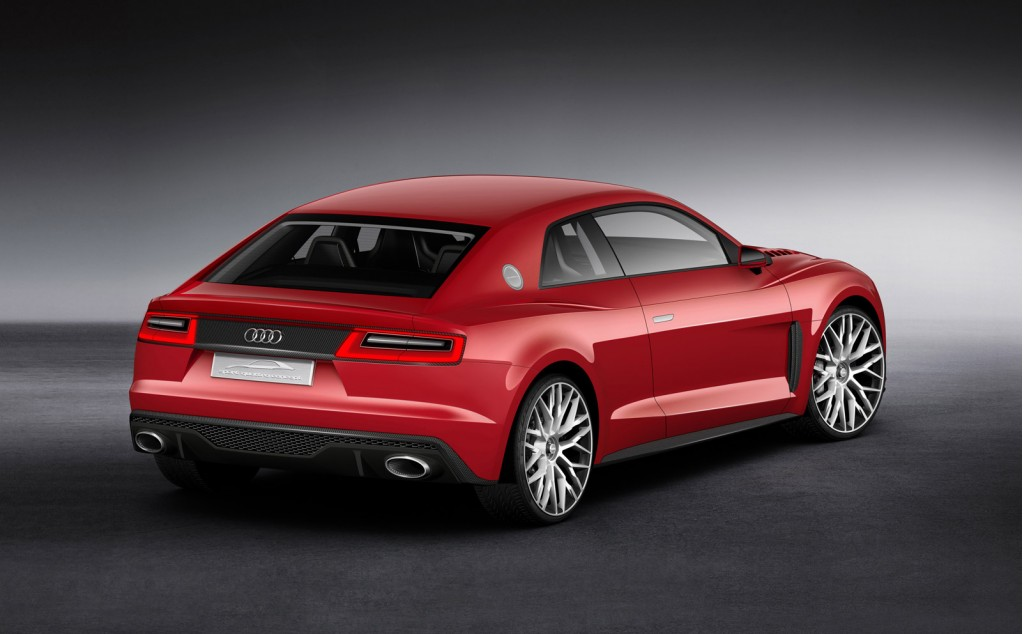audi readies sport quattro concept with laser lights for. Black Bedroom Furniture Sets. Home Design Ideas