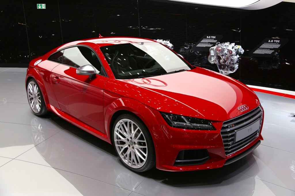 2016 audi tt debuts at 2014 geneva motor show live photos and video. Black Bedroom Furniture Sets. Home Design Ideas