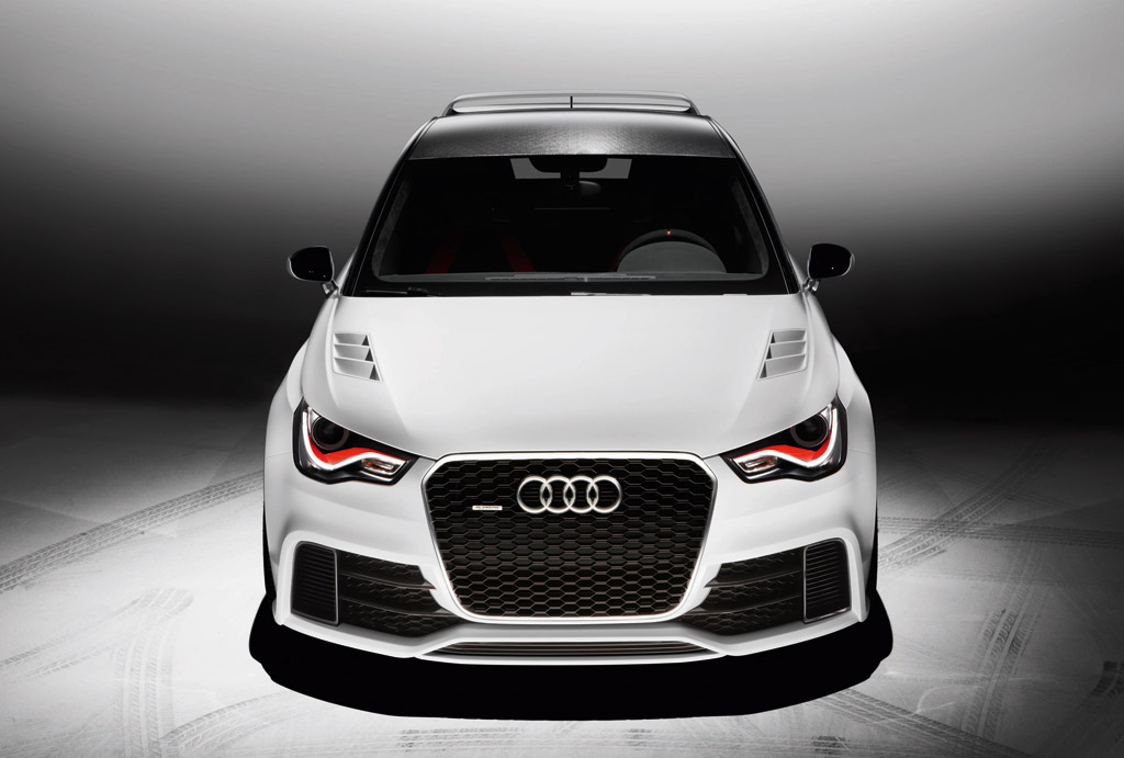 audi a1 clubsport quattro concept hints at possible rs 1. Black Bedroom Furniture Sets. Home Design Ideas