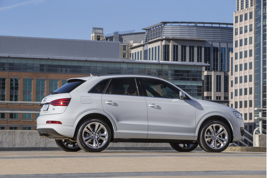2015 audi q3 revealed goes on sale this fall. Black Bedroom Furniture Sets. Home Design Ideas