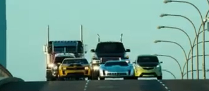 Autobots Of Transformers 3 Debut: Video