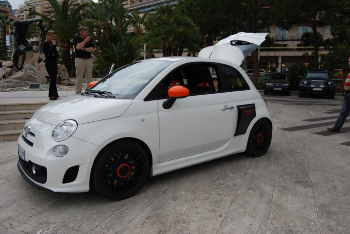 Aznom Unveils 230 Hp Mid Engine Rear Drive Fiat 500 At Top