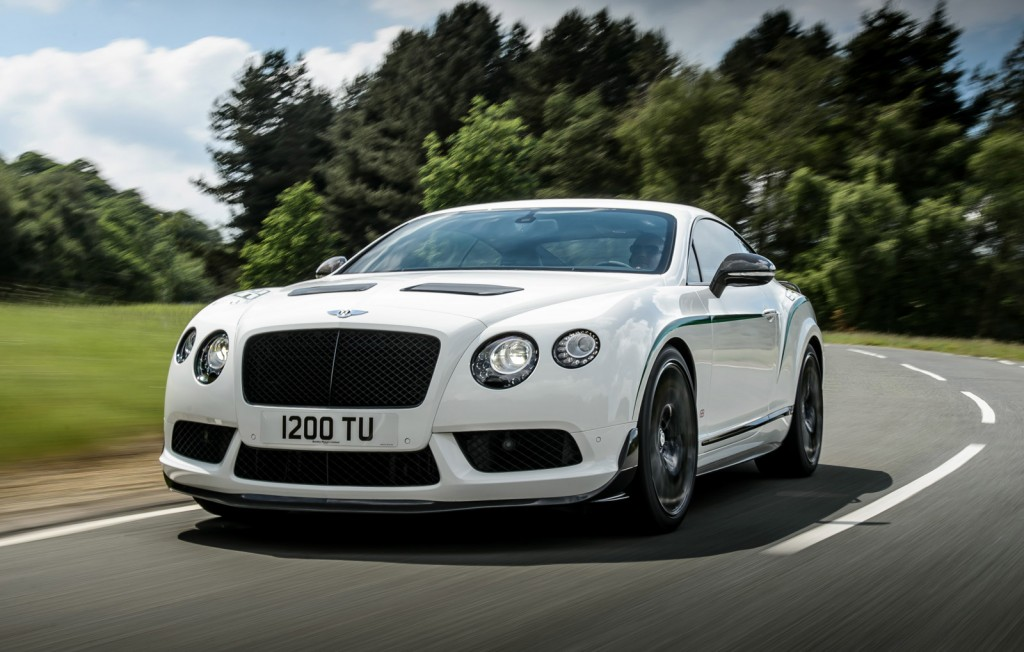 Bentley Continental Gt3 R Priced From 337 000
