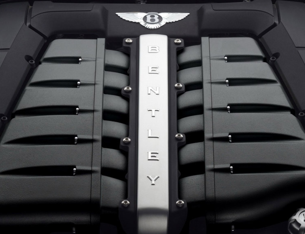 Bentley 4.0-liter V8 engine