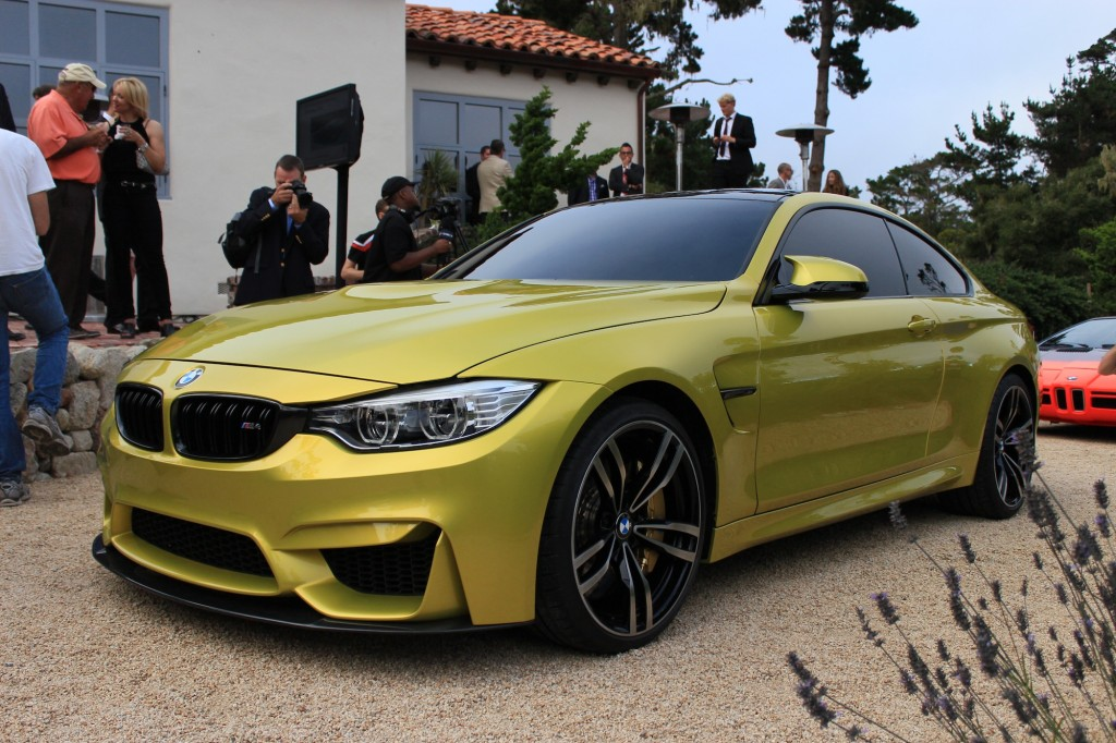 bmw concept m4 live photos and video. Black Bedroom Furniture Sets. Home Design Ideas