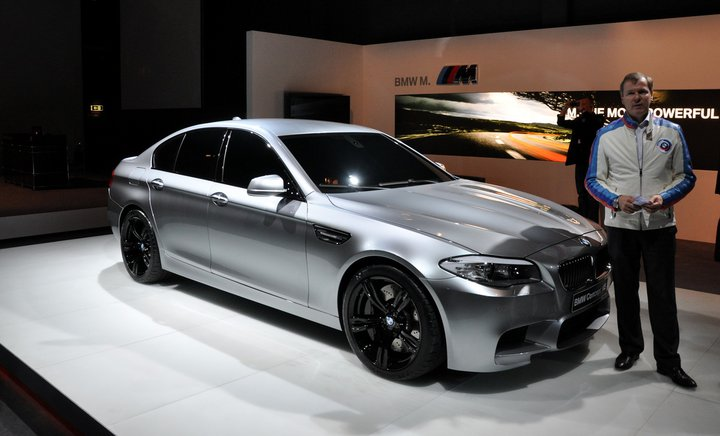 2012 Bmw M5 F10 Concept Leaked