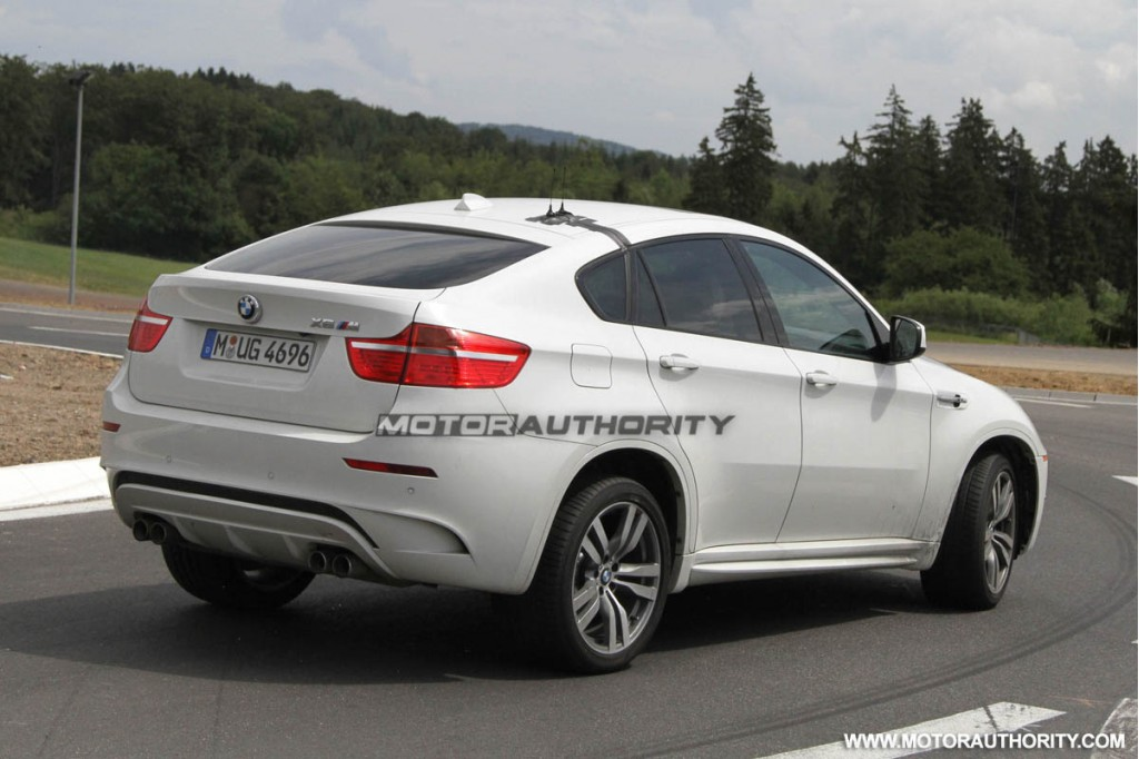 bmw x6 m special edition spy shots. Black Bedroom Furniture Sets. Home Design Ideas