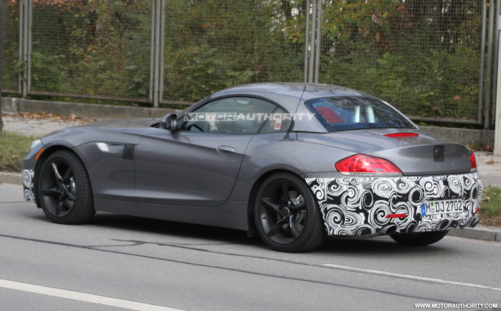 spy shots bmw z4 m sport package. Black Bedroom Furniture Sets. Home Design Ideas