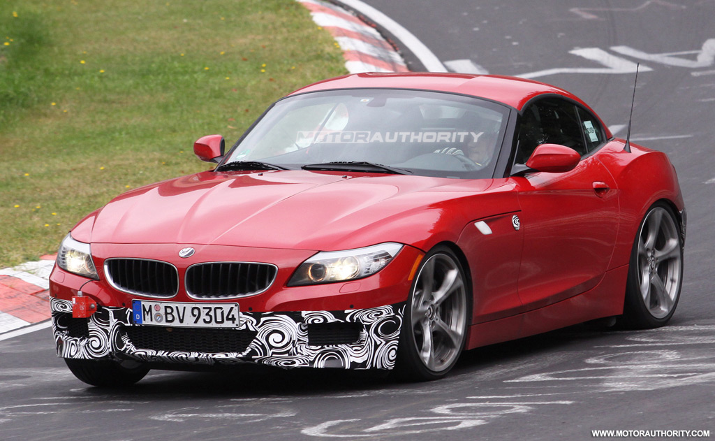 Spy Shots Bmw Z4 M Sport Package