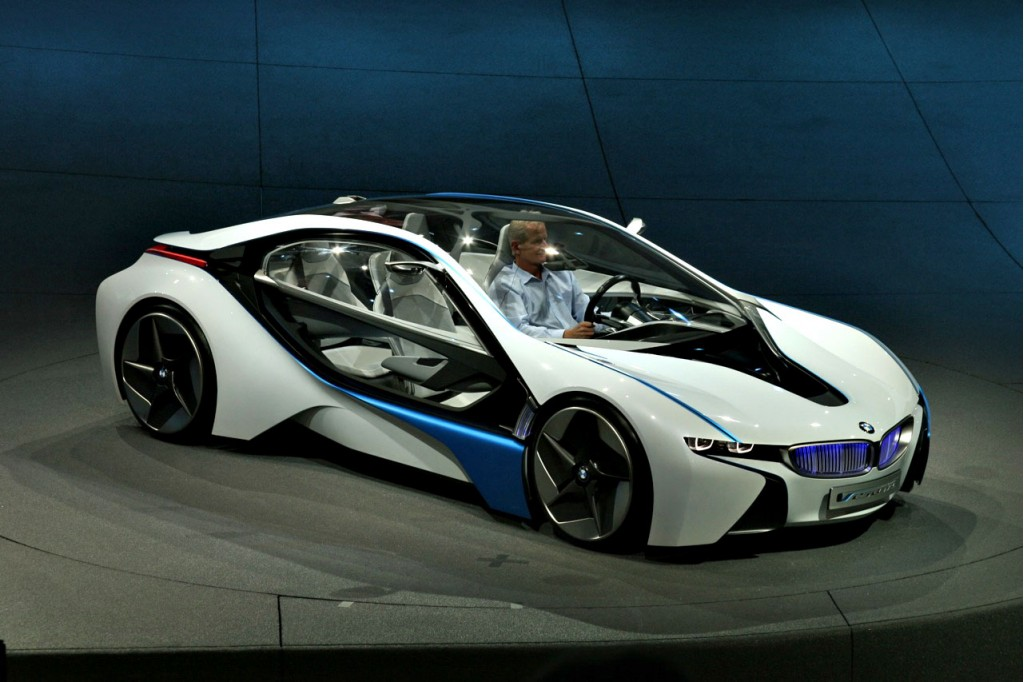 Bmw Vision Efficientdynamics Concept Live At Frankfurt