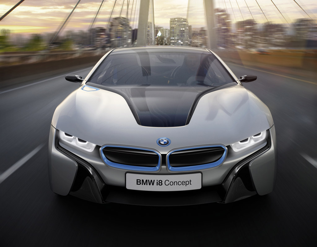 bmw i8 concept plug in hybrid sports coupe full details. Black Bedroom Furniture Sets. Home Design Ideas