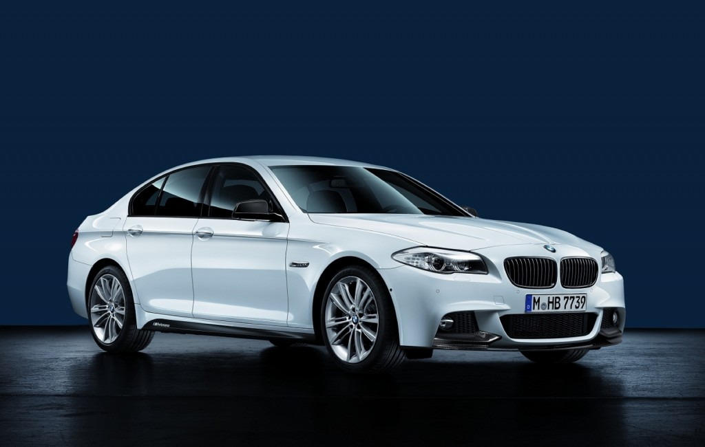 Bmw Announces M Performance Bits For 3 And 5 Series Sedans