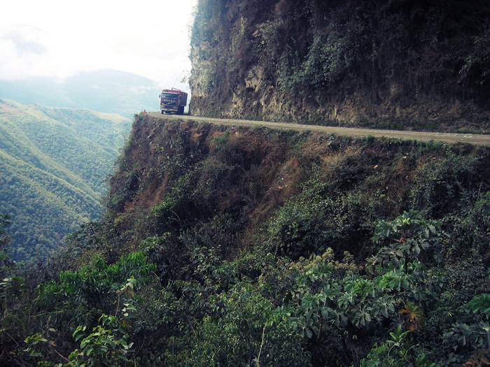 Bolivia Road Of Death North Yungas Road 100180502 L Jpg